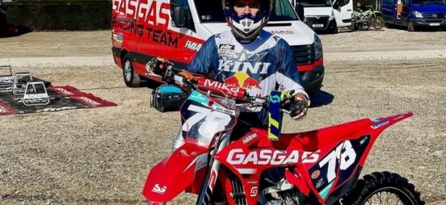 Een Mexicaan met F4E Racing Team in het EMX125