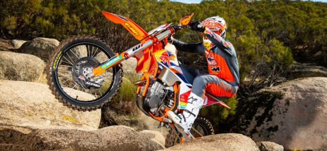 Kailub Russell in de Lucas Oil Pro Nationals