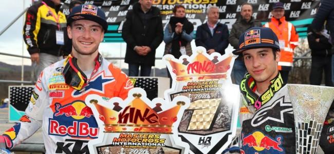 Masters of Motocross Lacapelle Marival van de baan