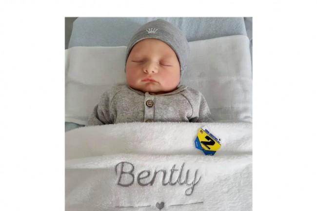 Marvin Vanluchene werd papa