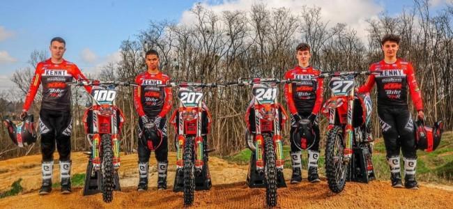 Team VHR met vijf rijders in actie