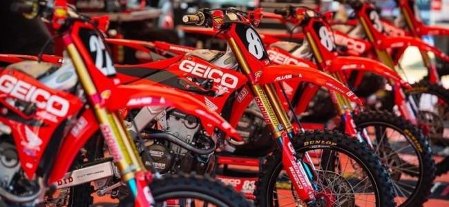 Geico blijft sponsor van Pro Motocross