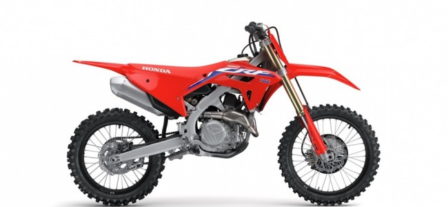 Honda onthult 2022 CRF450R