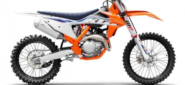Hier zijn de KTM crossers van 2022