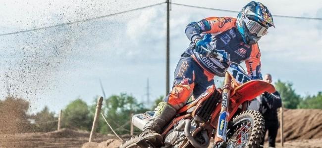 Joel van Mechelen keert terug op KTM
