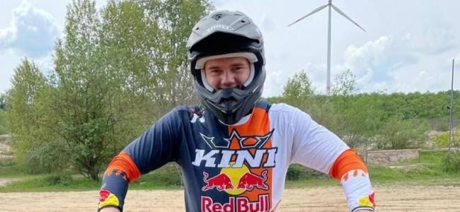 Max Bülow in EMX250 met Raths Motorsport