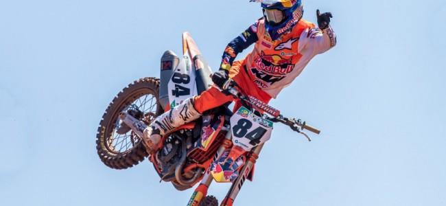 Jeffrey Herlings domineert Internationale MX van Montgueux