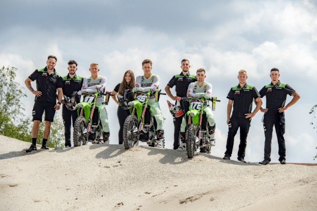 Russisch rijder debuut voor F&H Kawasaki MX2 Racing Team