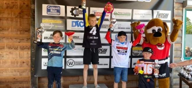 Overland, Jaspers, Van den Broek en Van Vulpen winnen