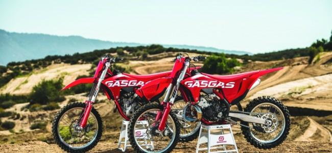 2022 GasGas: drie nieuwe modellen