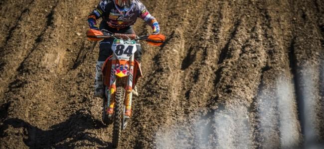 Jeffrey Herlings wint MX1 in Ernée