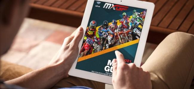 Download de GRATIS 2021 MXGP gids!