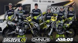Team Gasdevil-Omnius Truckparts nieuw in het rennerskwartier