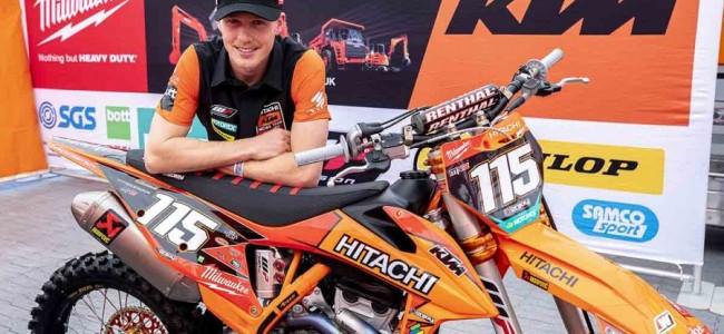 Dickinson rest van seizoen bij Hitachi KTM UK Milwaukee