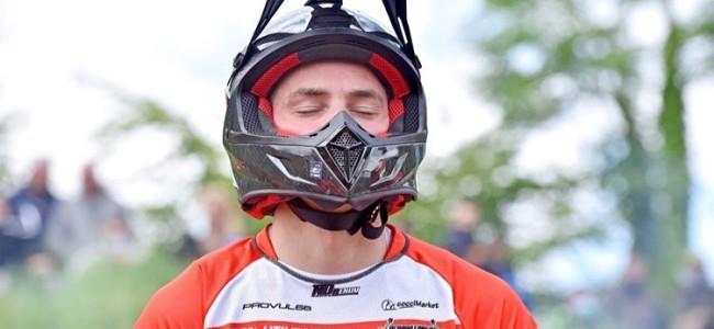 Nicolas Dercourt wint tijdtraining EMXOpen