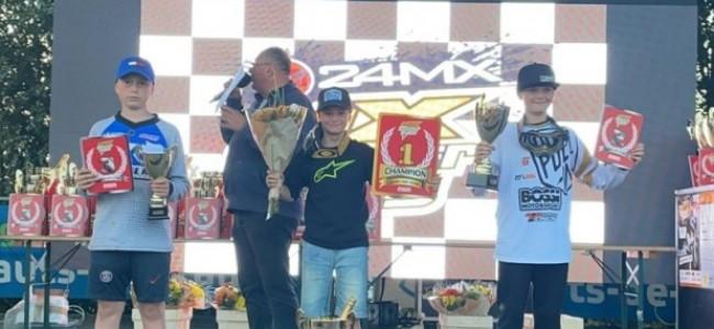 Dean Gregoire wint weer de MX Master Kids