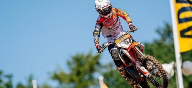 Levi Schrik domineert 85cc Junior Cup