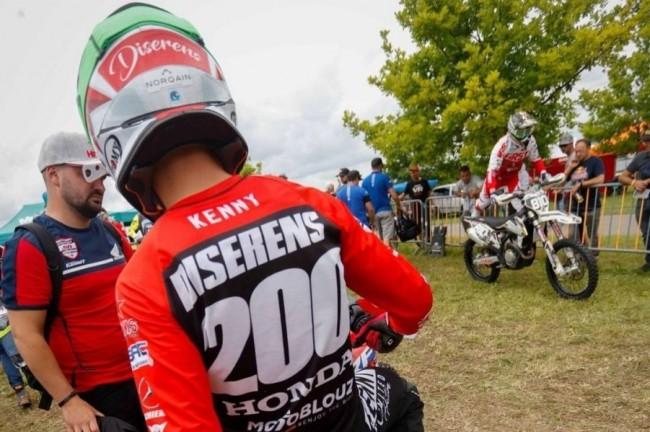 Zware crash van Luca Diserens