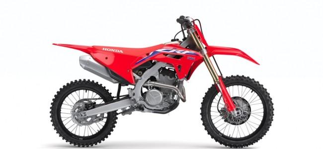 Technische fiche 2022 Honda CRF250R