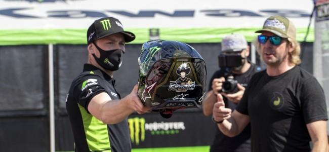 VIDEO: Romain Febvre over zijn nieuwe helm