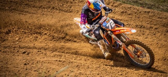 Bewogen weekend voor Liam Everts met veelvuldige crashes!
