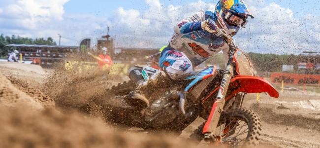 Liam Everts maakt zijn MX2-debuut al in Riola Sardo