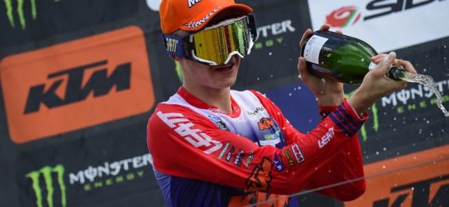 EMX250 Letland: Elzinga weer op het podium. Horgmo wint
