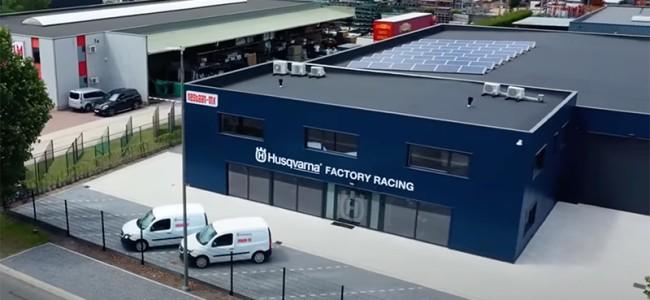 Kijk mee in de Husqvarna MX2 Factory werkplaats!