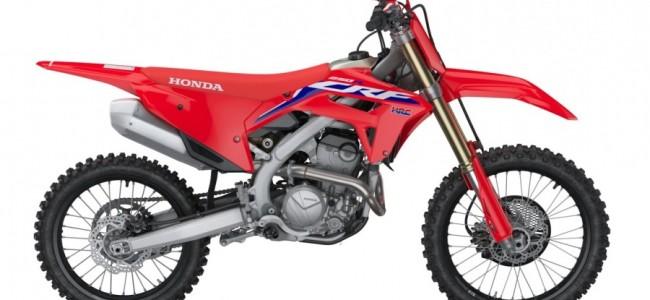 Hier is de nieuwe Honda CRF250R