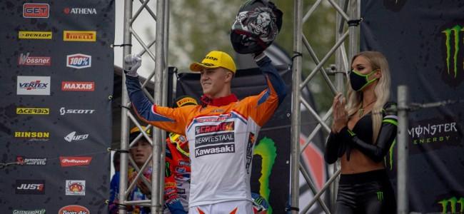 F&H Kawasaki MX2 Racing weer op het MXoN podium