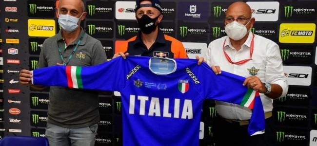 Thuisland Italië met topteam naar MXON