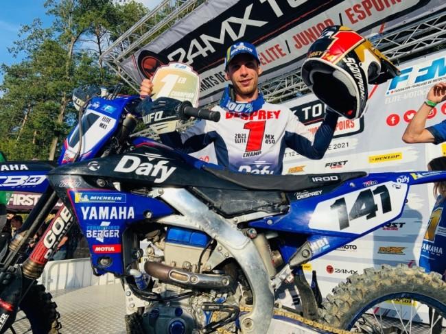 Maxime Desprey Frans MX1 kampioen na thriller!