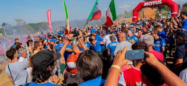 ISDE: Titel voor Italië, België 9de!