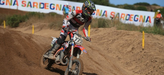 Lotte van Drunen pakt brons in Riola Sardo
