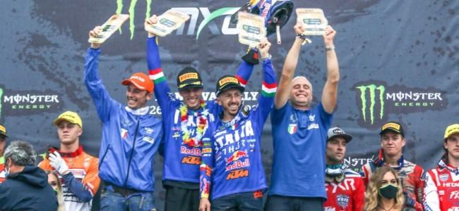 Cairoli en Italië maken Italiaanse Naties droom waar!
