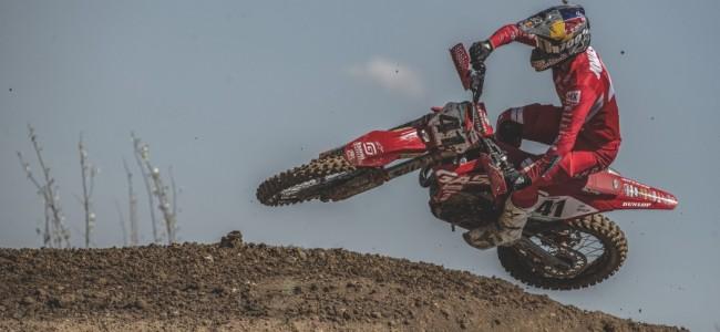 Pauls Jonass niet naar de Motocross of Nations