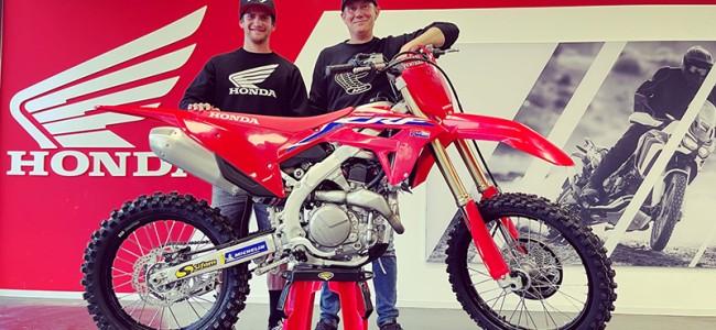 Daymond Martens verkast naar Honda Wonderbike