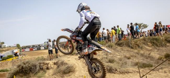 FOTO: EMX talenten schitteren in Sardijnse bakoven