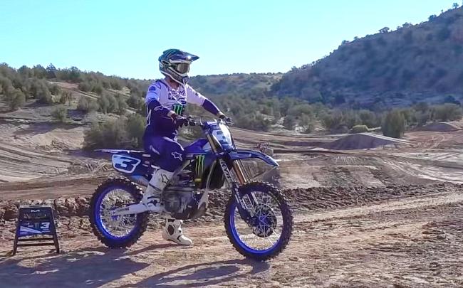 VIDEO: Eli Tomac voor het eerst op een Yamaha