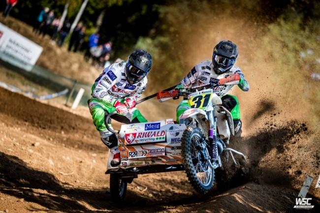 Veldman/Cermak winnen de 3e GP heat én de WK-leiding, Bax/Musset de totale GP te Tsjechië
