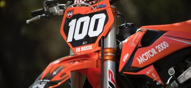 Motor2000 Racing team bedankt Danny van den Bosse