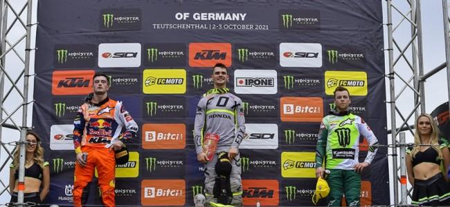 VIDEO: MX2 en MXGP highlights Teutschenthal