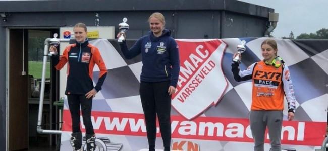 Lynn Valk wint de enige manche in Varsseveld