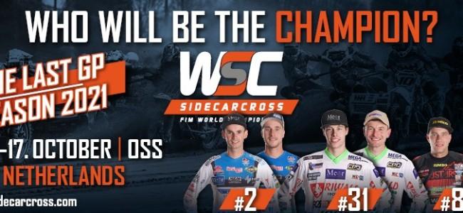 Wie van de drie? Voorbeschouwing Finale GP Sidecars Oss