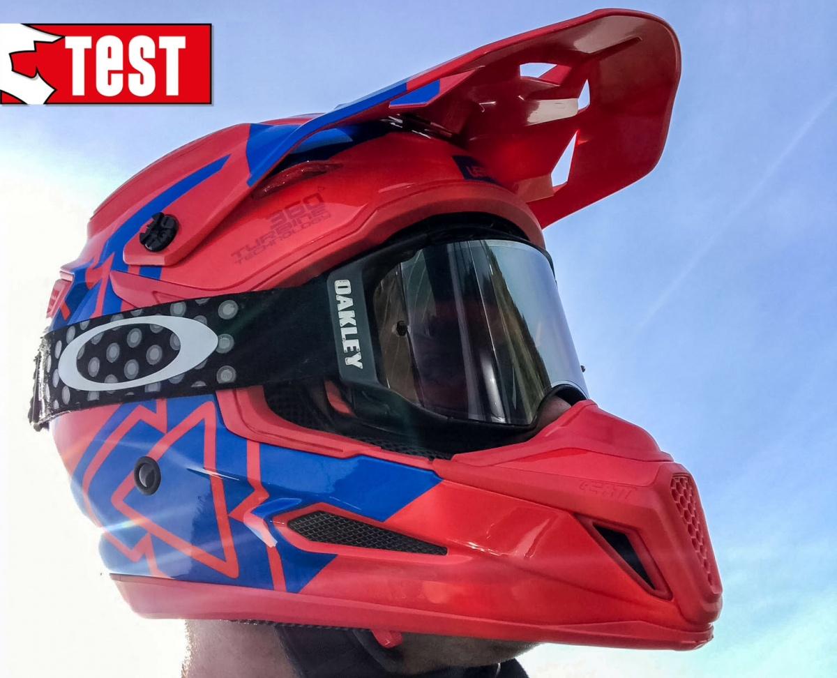 product test leatt gpx 5 5 helm motorcross enduro. Black Bedroom Furniture Sets. Home Design Ideas