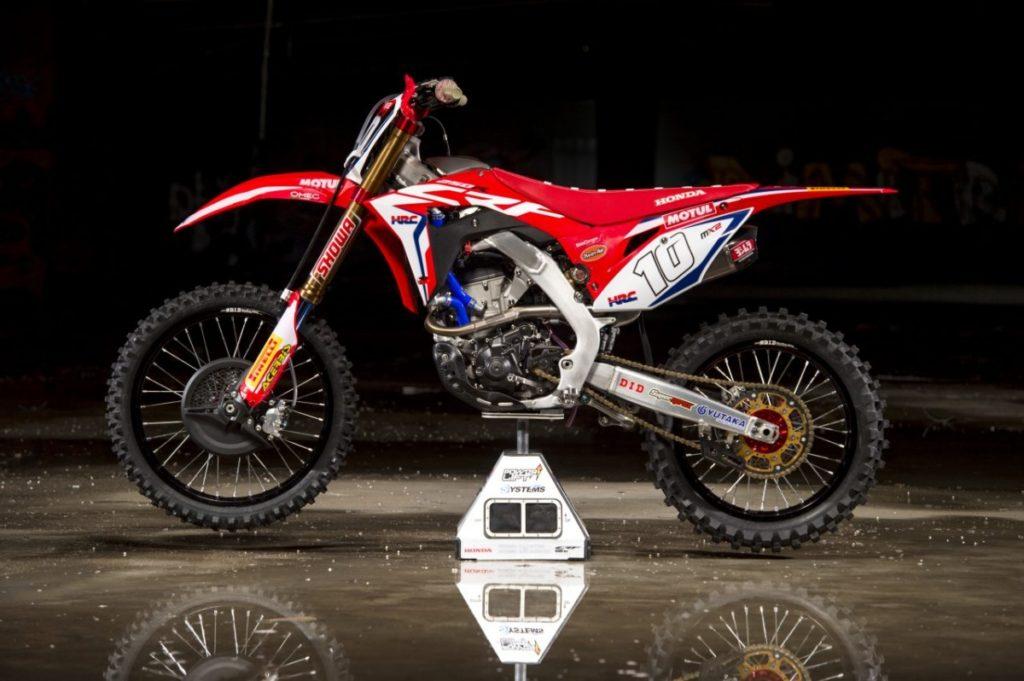 Foto Team Hrc Honda Klaar Voor 2018 Motorcross Enduro
