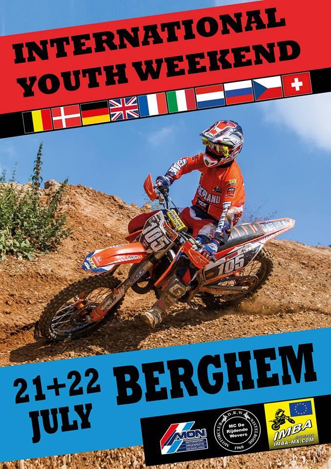 Internationaal Jeugdweekend Berghem 21 En 22 Juli Motorcross Enduro Supermoto Mxmag Be