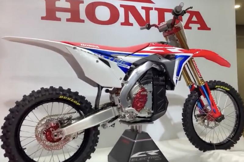 Honda Stelt Elektrische Crossmotor Voor In Tokyo